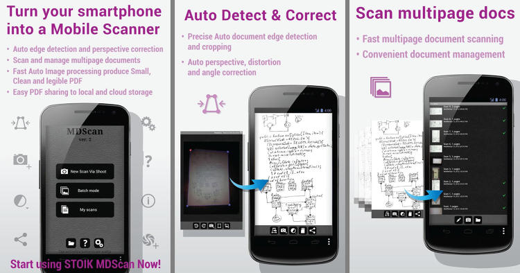 "<p>Capture scans with your phone's camera and save as PDF or JPG to cloud services. Add multiple pages, and use batch mode or ""spy mode"" for faster scanning. It's like having a copy machine in your pocket--just don't try to sit on it.</p>"
