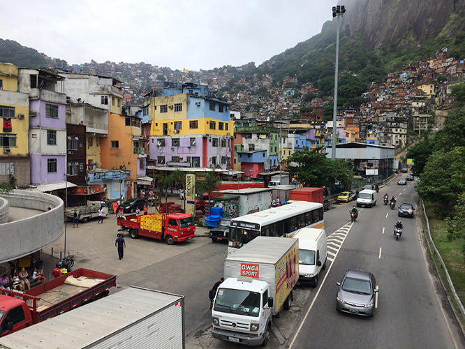 <p>His personal service is a key part of the experience. Without Rosenberg waiting to meet me near the favela's motorcycle taxi stand, I would have been completely lost, since residences off the main road of Rocinha don't have formal addresses.</p>