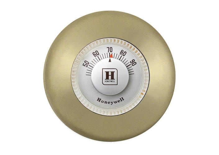 <p>I'll admit, I actually like Honeywell's classic thermostat, which served as the inspiration for the industrial design, more as an aesthetic.</p>