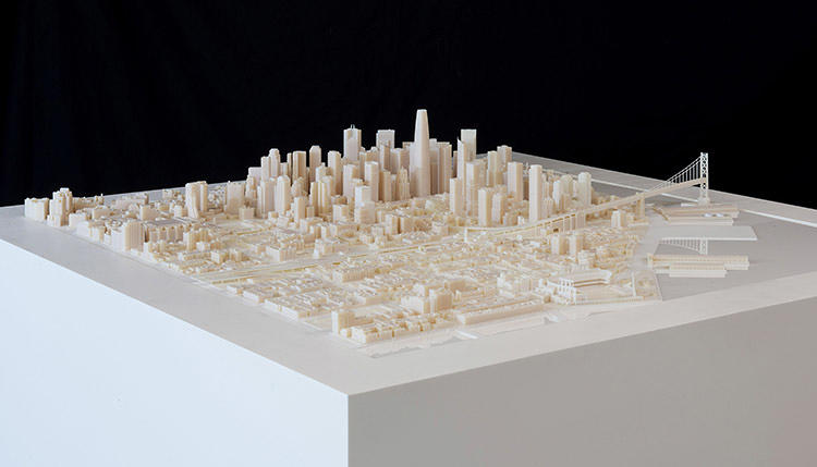 <p>Since the San Francisco print was such a success, Steelblue is now printing models of other cities as well.</p>