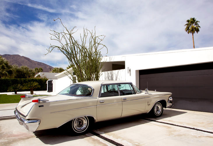 <p>Baron, who lives part-time in Palm Springs, thinks the city can be misunderstood.</p>