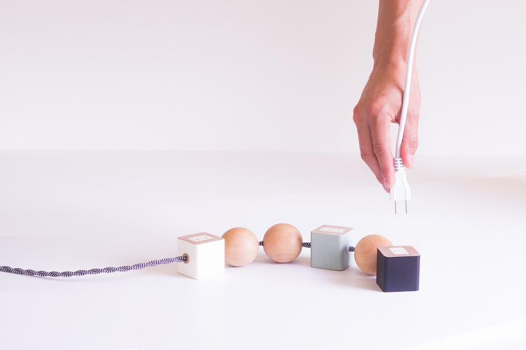 <p>What if that ugly tangle of power cords and adapters in your corner could be transformed into a playful sculpture?</p>