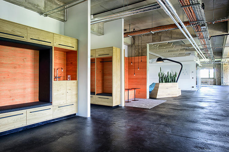 <p>The project was led by Kelly Robinson, who's done work for AirBnB and Couchsurfing as well, and by Timo Nerger, Martin Jacobs, and Karim El-Ishmawi from Berlin-based architecture firm Kinzo.</p>