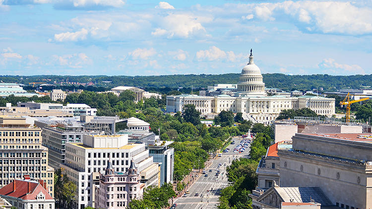 <p>Washington, DC ranks as the most walkable city in the U.S., according to a new report.</p>