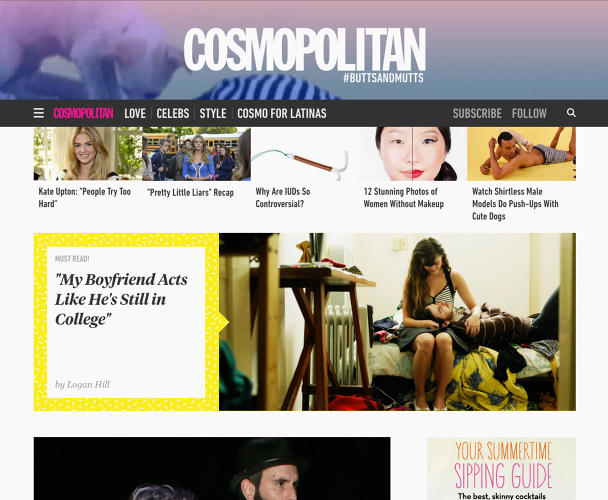 <p>Responsive to mobile and developed with social traffic in mind, the new site, designed by Code and Theory, provides editors with a flexible toolkit for publishing content and holding readers' scattered attention.</p>