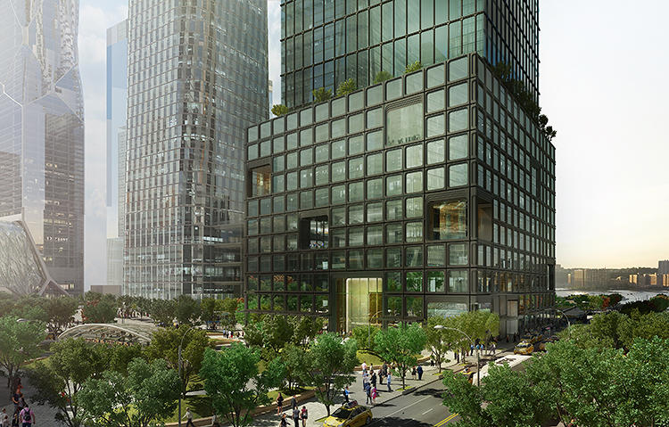 <p>Their floors will be sprawling and open, free from columns, and have floor-to-ceiling windows that look out to the Hudson River and connect into the newly extended High Line park.</p>