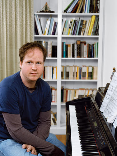 <p><strong>Joss Whedon</strong>, creator of <em>Buffy the Vampire Slayer, Angel, and Firefly</em>, in his Santa Monica Office</p>