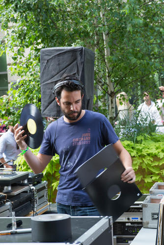 <p>Eamon Harkin (pictured) and Justin Carter are the producers and DJ duo behind Mister Sunday. The pair have a nose for neighborhoods on the verge, and recently moved from a Gowanus location to Industry City, where one of the complex's developers, Jamestown, is their landlord.</p>