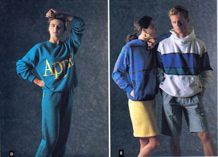 <p>I know people who would rock that sweatsuit.</p>