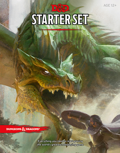 <p>The idea is that you can pick up the sub-$15 Starter Set just to get playing. But it's written vaguely on purpose, the idea being that you just get playing.</p>