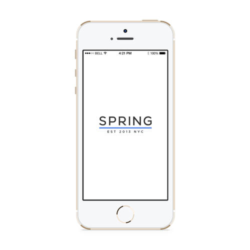 <p>Spring is a startup that attempts to recreate the experience of shopping in Soho within an app (it's named after Spring Street).</p>