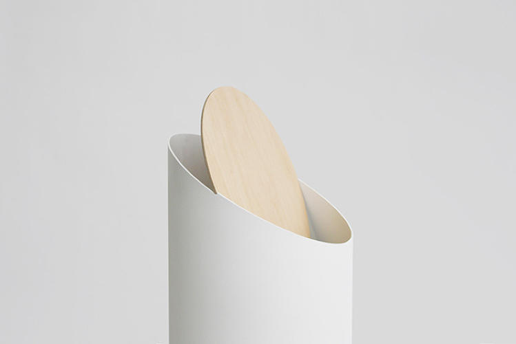 <p>Japanese designer Shigeichiro Takeuchi first created the sleek, sculptural Swing Bin in 2009. Imagining an elegant wastebin with the minimum number of components, Takeuchi figured out the exact angles that would allow the Swing Bin's lid to balance perfectly, allowing it to close firmly yet quietly with just a simple push. By 2010, Takeuchi had several working prototypes, and by 2011, the Swing Bin had won numerous design awards from the likes of <em>Wallpaper</em> and <em>Monocle</em>.</p>