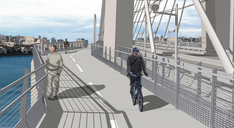 <p>The new Tilikum Crossing will be the longest car-free transit bridge in the U.S., and the first multi-modal project of its kind.</p>