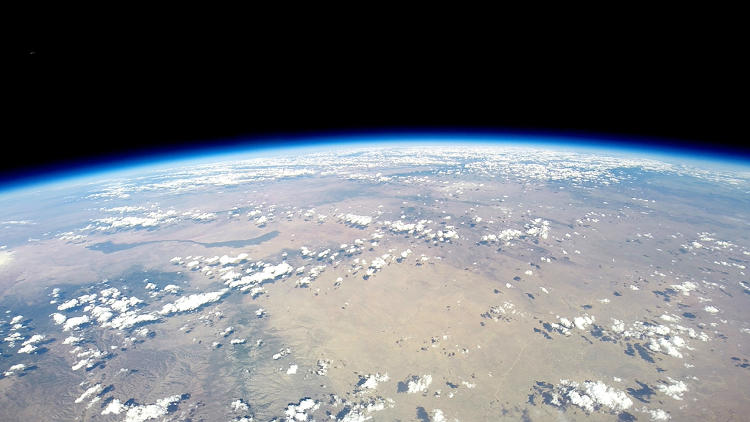 <p>Curvature of Earth &amp; vast universe from 120,000 ft. WV Voyagers will be afforded a spectacular view of the Earth suspended against the black, immensity of space.</p>