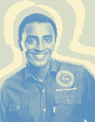 <p><strong>Marcus Samuelsson</strong>, award-winning chef and author, owner at NYC's Red Rooster Harlem, Ginny's Supper Club, Uptown Brasserie, American Table Cafe, Chicago's Marc Burger and Sweden's American Table Brasserie and Norda<br /> &quot;I'd love to to have a small, quick, and portable smoker to smoke meats, fish, and vegetables easily and in half the time. It would be easily adjustable, maybe even digital. I can imagine taking it to barbecues everywhere from the park, to the beach or a rooftop.&quot;</p>