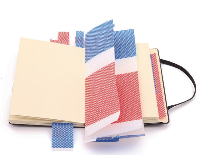 <p>They're culled from Moleskine's Detour project, a traveling group show that features more than 250 notebooks filled by famous artists, designers, and writers.</p>
