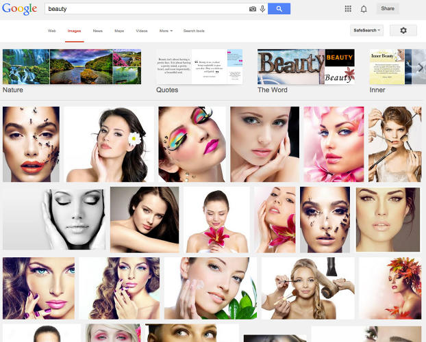 <p>Type &quot;beauty&quot; into Google image search, and you'll see endless photos of white models.</p>