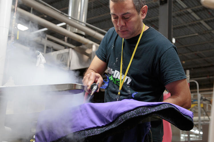 <p>The supply of good, willing spotters from established cleaners still isn't enough to fill RTR's dress demands. Of the 13 spotters that work at the dress delivery service, about half came from the industry. The rest, the company has trained, and it plans to double the work force in the next three months.</p>