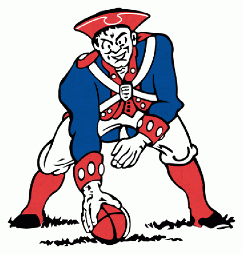super logo bowl the design history of the patriots and
