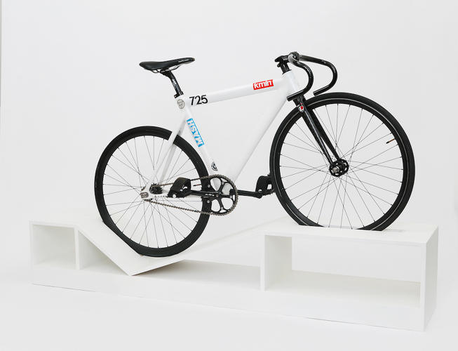 <p>&quot;It changes the cult of the TV to one of the bike,&quot; says designer Manuel Rossel.</p>
