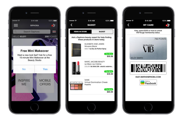 <p>The opening of the Innovation Lab corresponds with the rollout of four new digital programs, including Beacon, with opt-in mobile notifications that activate in the store through the Sephora to Go mobile app, alerting users to things like available makeover times or Beauty Insider point status.</p>