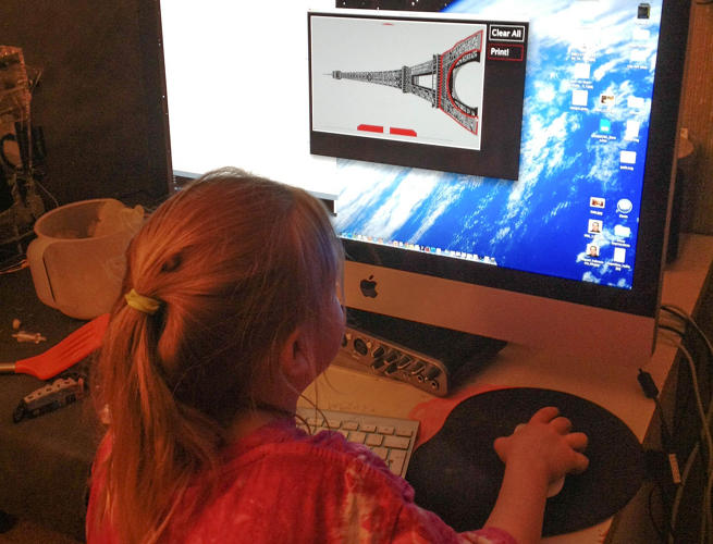 <p>Designer Miguel Valenzuela first started working on the gadget at the request of his three-year-old daughter.</p>