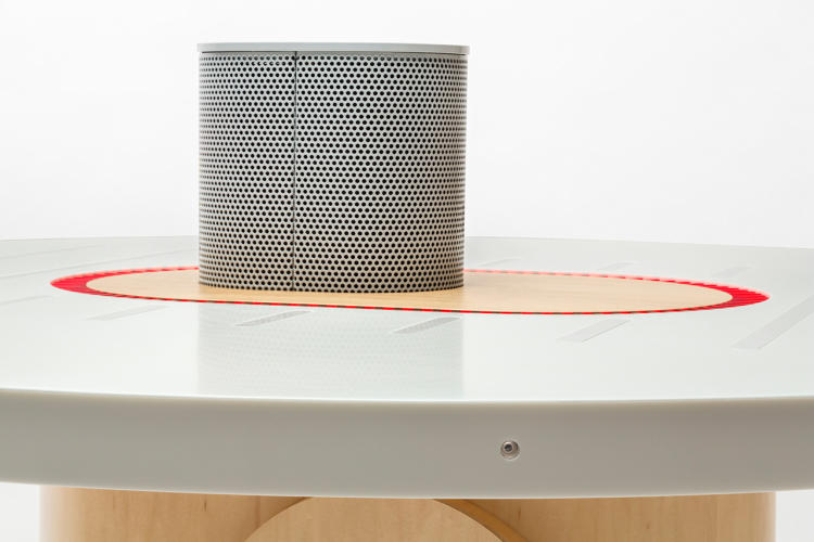 <p>The Listening Table by NYT Labs (think here the <em>New York Times'</em> own in-house equivalent of MIT's Media Lab) is a smart conference table that is always listening to the conversations happening around it.</p>
