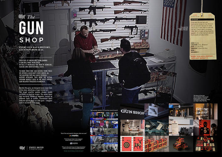 <p>Grey New York, &quot;The Gun Store&quot;</p>