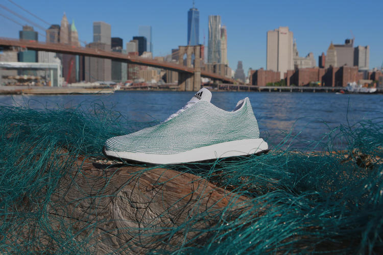 <p>This sneaker prototype makes recycling look good.</p>