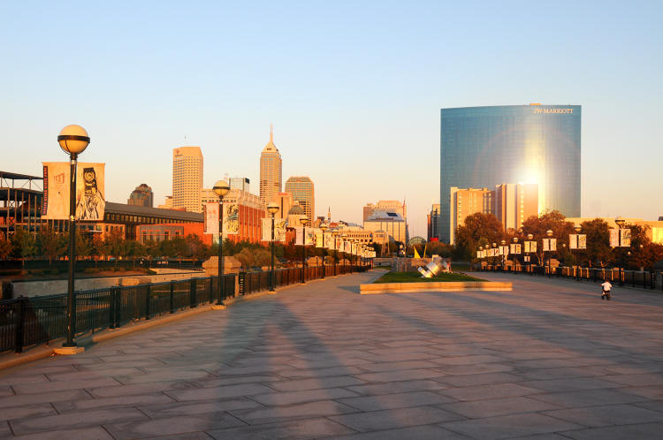 <p>Indianapolis has emerged as an ideal city for young professionals looking for an affordable home and a strong work/life balance. The city boasts three Fortune 500 companies — Eli Lilly and Company, Anthem Inc. and Simon Property Group — as well as a number of major sporting events.</p>
