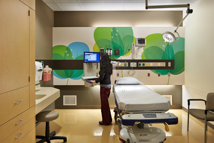 5 gorgeous hospitals that show how good design can improve for Website to help design a room