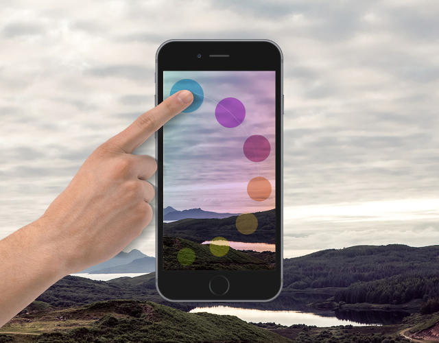 <p>Infltr is a new photo app with a clever idea to handle filters.</p>
