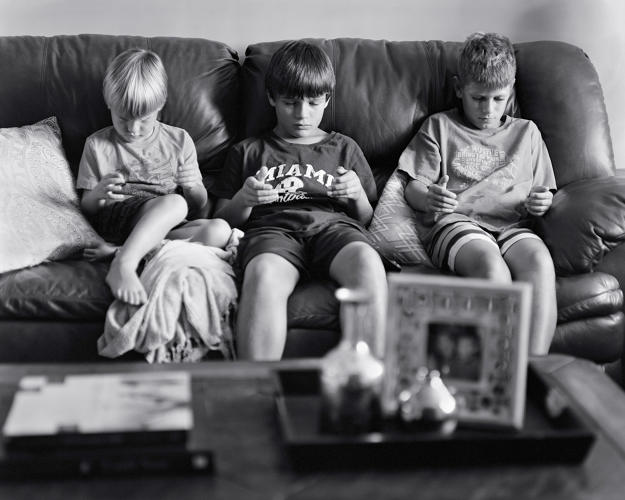 <p>It's a way to show tech addiction—and its effects on our social lives—that goes farther than simple documentary.</p>