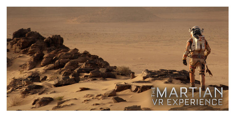 <p>The <em>Martian</em> director Ridley Scott even paid a visit to the Bunker to get involved in the development of the VR experience.</p>