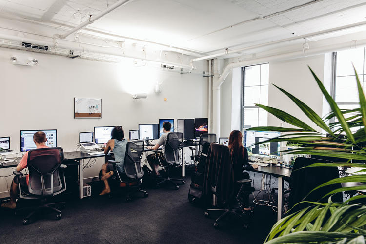 <p>Squarespace's New York offices</p>