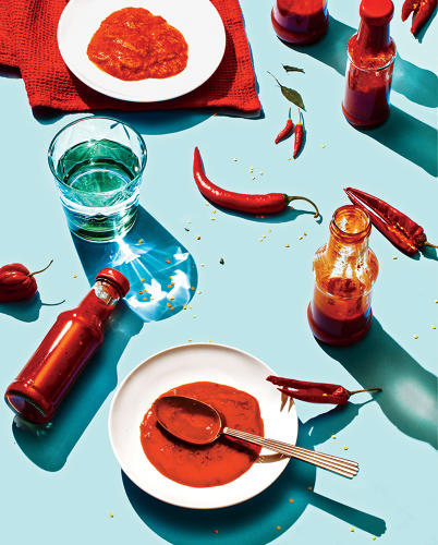 <p><a href=&quot;http://www.fastcompany.com/3050328/most-creative-people/hot-sauce-usa&quot; target=&quot;_self&quot;>Where once was Tabasco, there is now Sriracha, Cholula, and Gochujang. This is what the condiment aisle says about American consumers. <br /> </a></p>