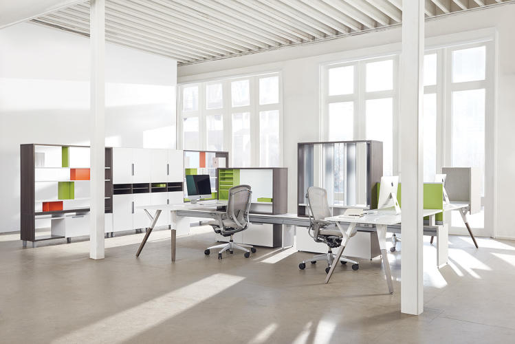 8 top office design trends for 2016 fast company for Office space design companies