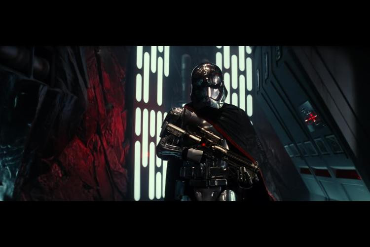 <p>One of the main villains is icy chief stormtrooper Captain Phasma, played by Gwendoline Christie.</p>