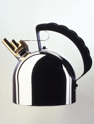 <p><a href=&quot;http://richardsapperdesign.com/products/1980-1990/9091&quot; target=&quot;_blank&quot;>9091 kettle</a> for Alessi, 1983</p>