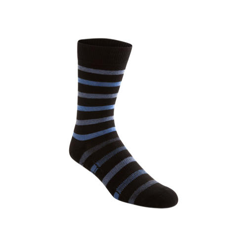 <p>Amarasiriwardena wore Ministry of Supply's Atlas dress socks during his run. The socks have ventilation knit into the spots where feet heat up the most. They also have coffee grounds integrated into the fibers to absorb odor.</p>