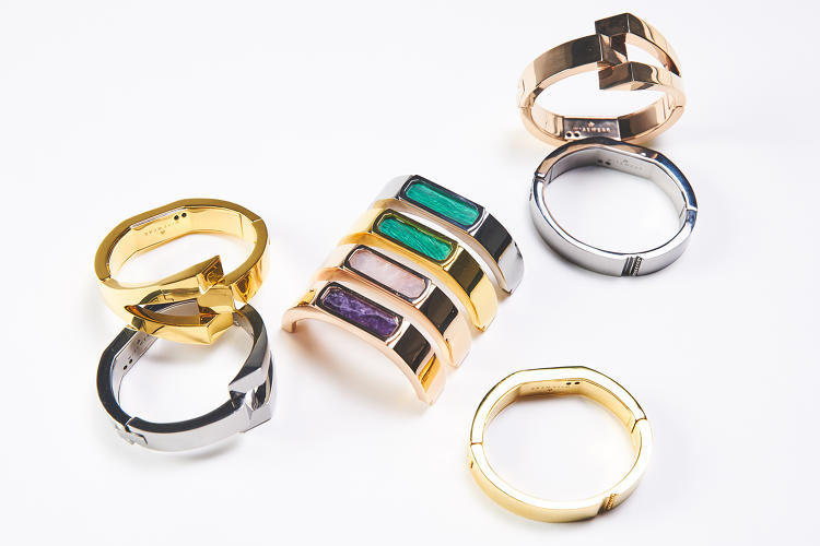 <p>But unlike most other wearables, the bangles can also send a distress signal to emergency contacts should something go wrong.</p>