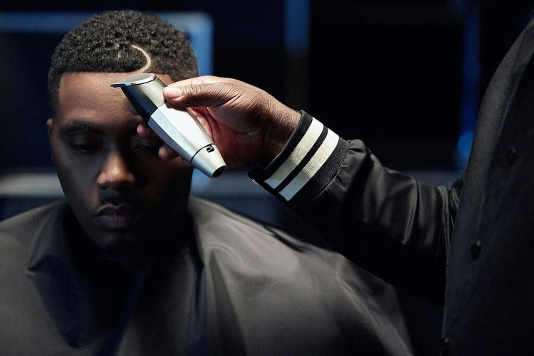 <p>Nas, who popularized the half-moon part, will be a brand ambassador for Bevel Trimmer.</p>