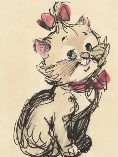<p>Marie from <em>The Aristocats</em>, 1970</p>