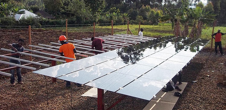 <p>Powerhive builds solar, mobile-connected microgrids--small utilities that are usually built to power around 200 homes.</p>