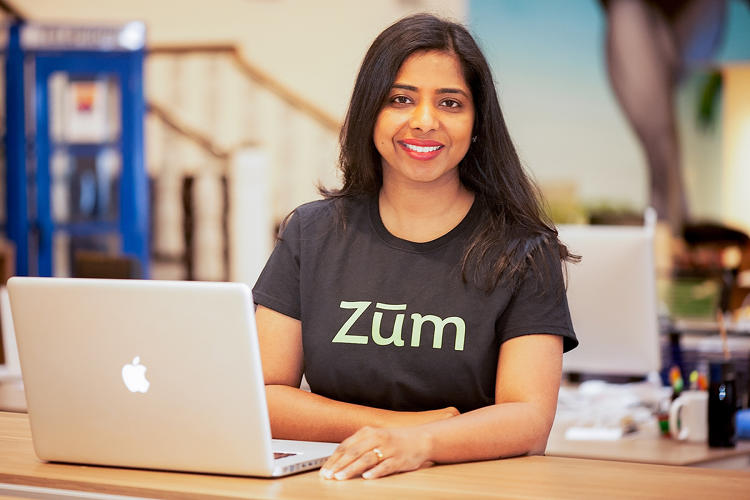 <p>Ritu Narayan, CEO of Zum, started the company when she struggled to get her kids from place to place while working full-time.</p>