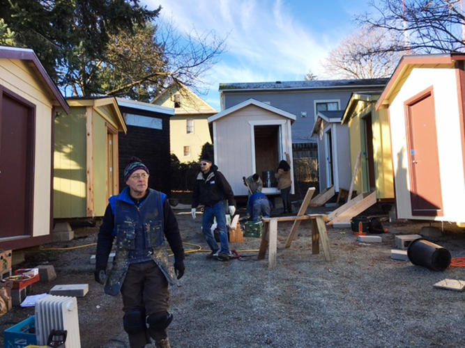 <p>One of these tiny houses can be built and installed for a little over $2,000.</p>