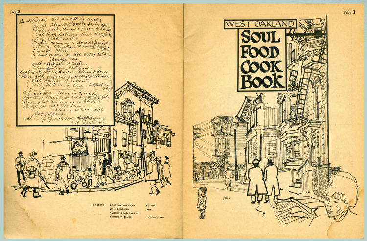 <p>Into the 70s the soul food era kicks off--this book lovingly assembled in West Oakland.</p>