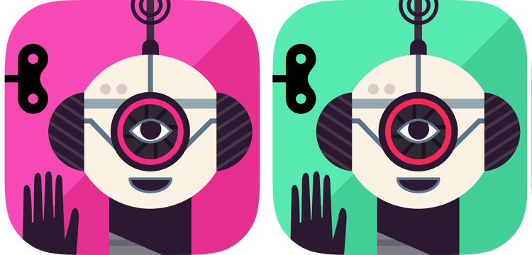 <p>After initially trying out a pink icon for its Robot Factory game, Tinybop ultimately landed on green because it appealed to boys and girls equally.</p>