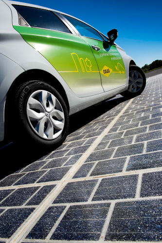 <p>Construction will take place over the next five years, using Wattway panels from Colas.</p>