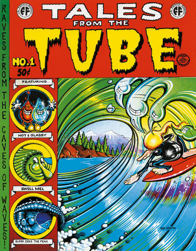 <p>Comic book cover, Tales from the Tube, 1971</p>